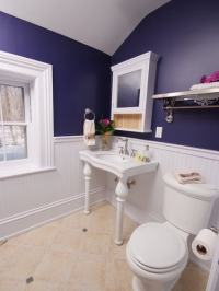 Easy Tips to Help You Decorating Navy Blue Bathroom - Home ...