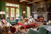 Rustic Cottage Living Room