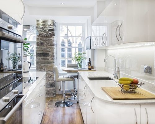 How To Maximize Small Modern Kitchen Spaces Home Decor Help