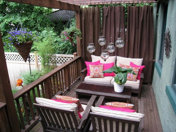 Wonderful Decorating Ideas For Apartment Balcony