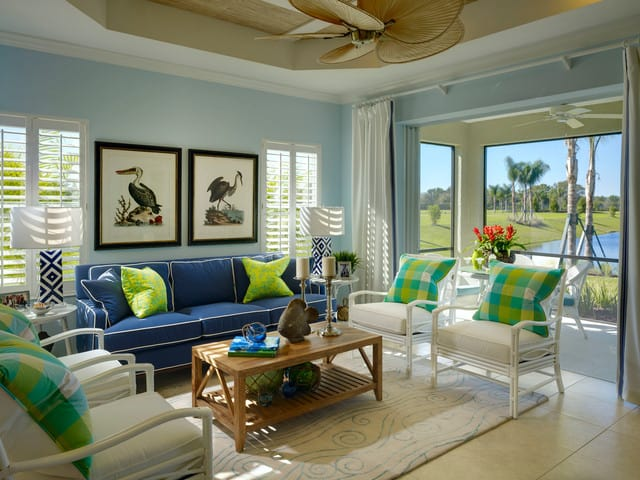 How to Decorate a Tropical Style Living Room