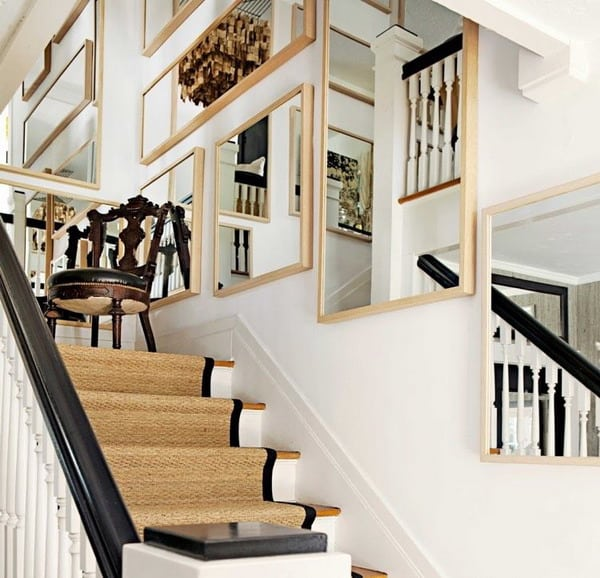 Tips for Creative Stairwell Wall Design Ideas