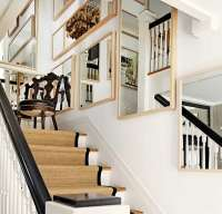 Tips for Creative Stairwell Wall Design Ideas - Home Decor ...
