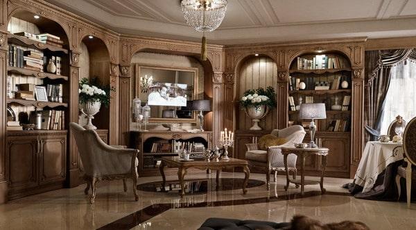 classic interior decoration styles