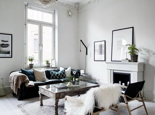 Decoration Nordic style Minimalist Living Room