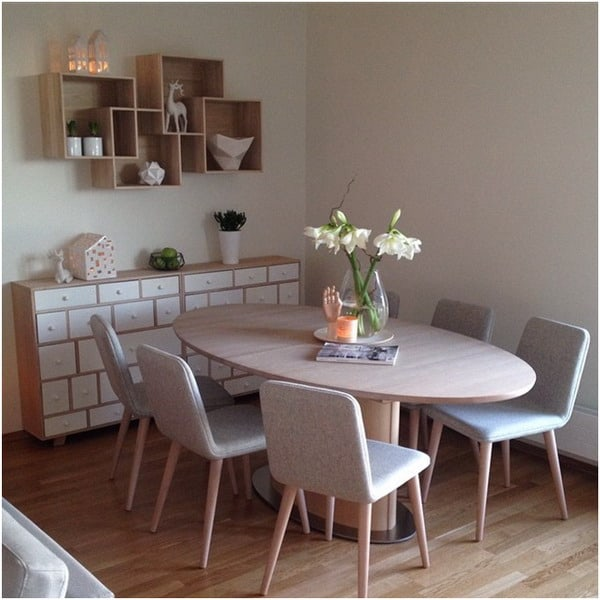 Nordic style dining room furniture