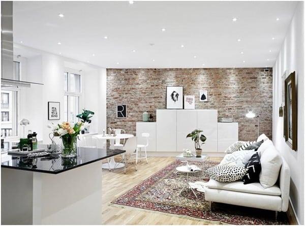 Nordic style interior lighting fixtures