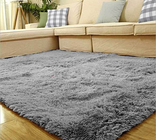 living room floor mats wall decor for india silver gray 80 120cm mat cover carpets rug area