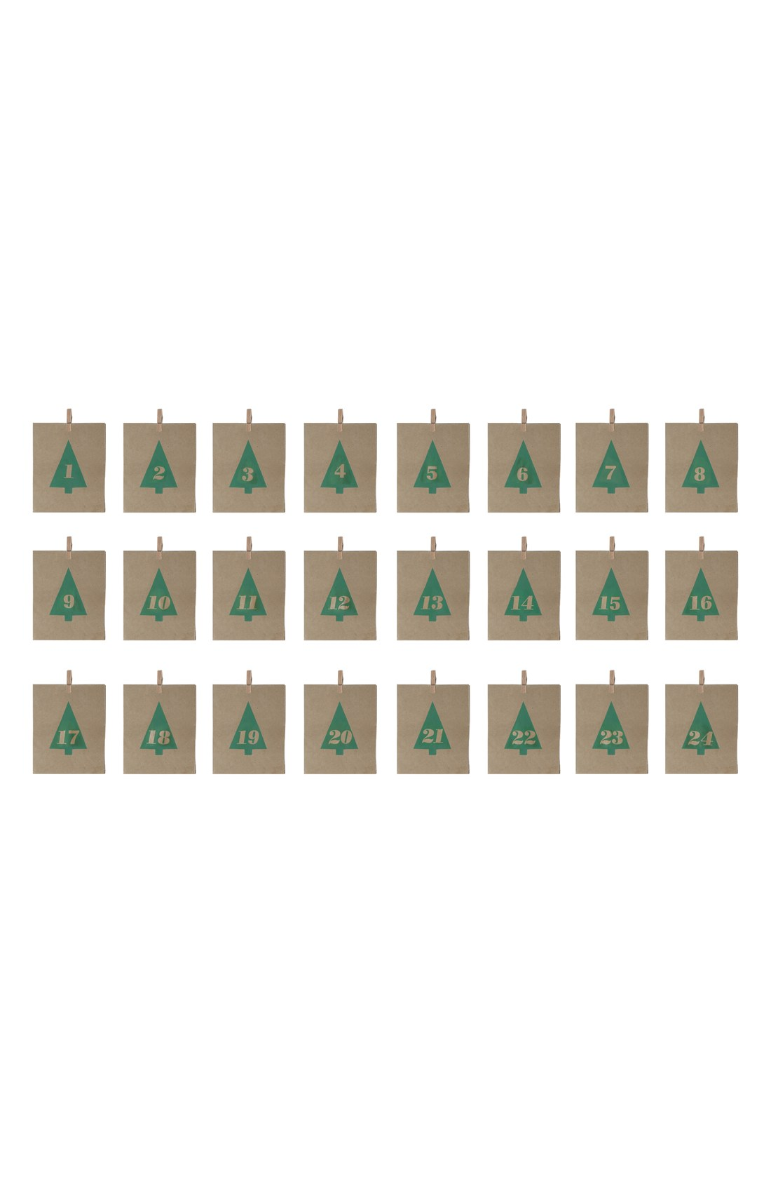 advent-tree-paper-bags