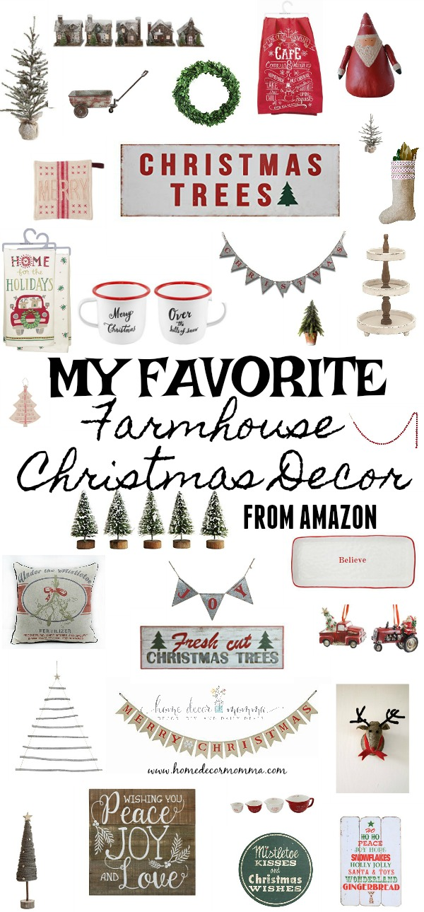 christmas banner and the home for the holidays tea towel there are so many fun rustic farmhouse items and most ship for free if you are an amazon - Amazon Christmas