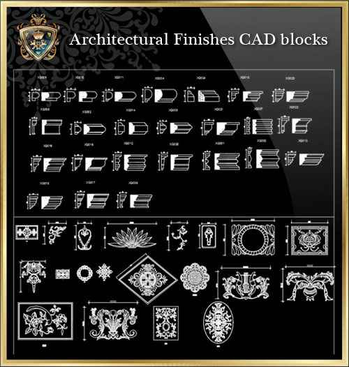 Architectural Finishes Cad Blocks Autocad Blocks Drawings