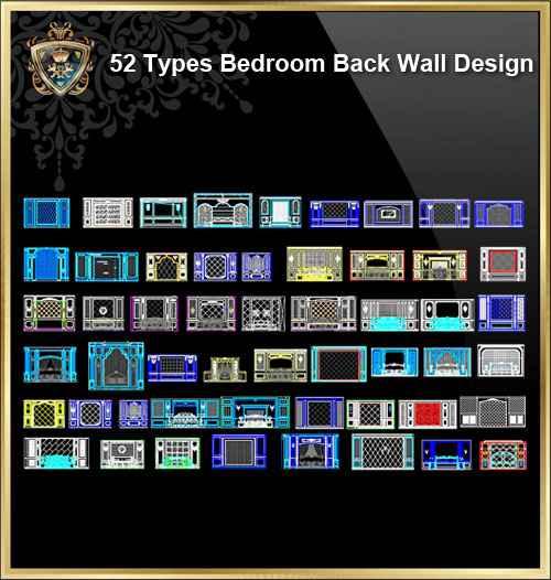 52 Types Bedroom Back Wall Design