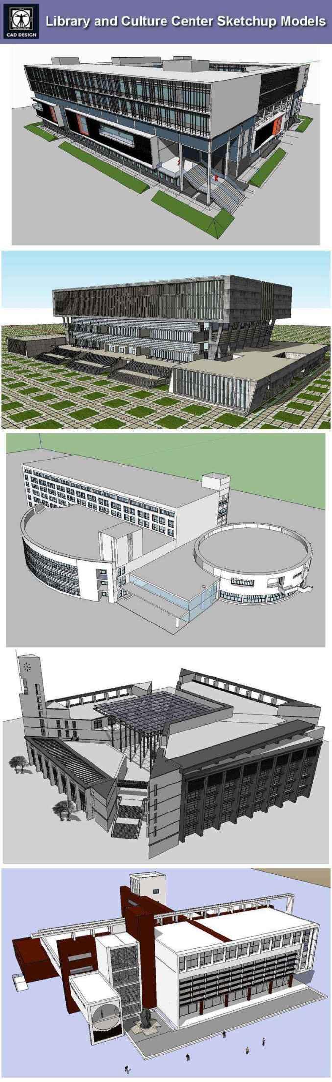 sketchup библиотека моделей