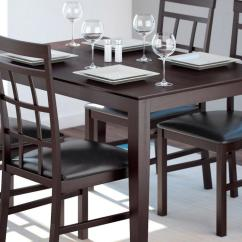 Kitchen Table With Bench And Chairs Sink Mats Drain Hole Dining Room Furniture The Home Depot Canada Tables