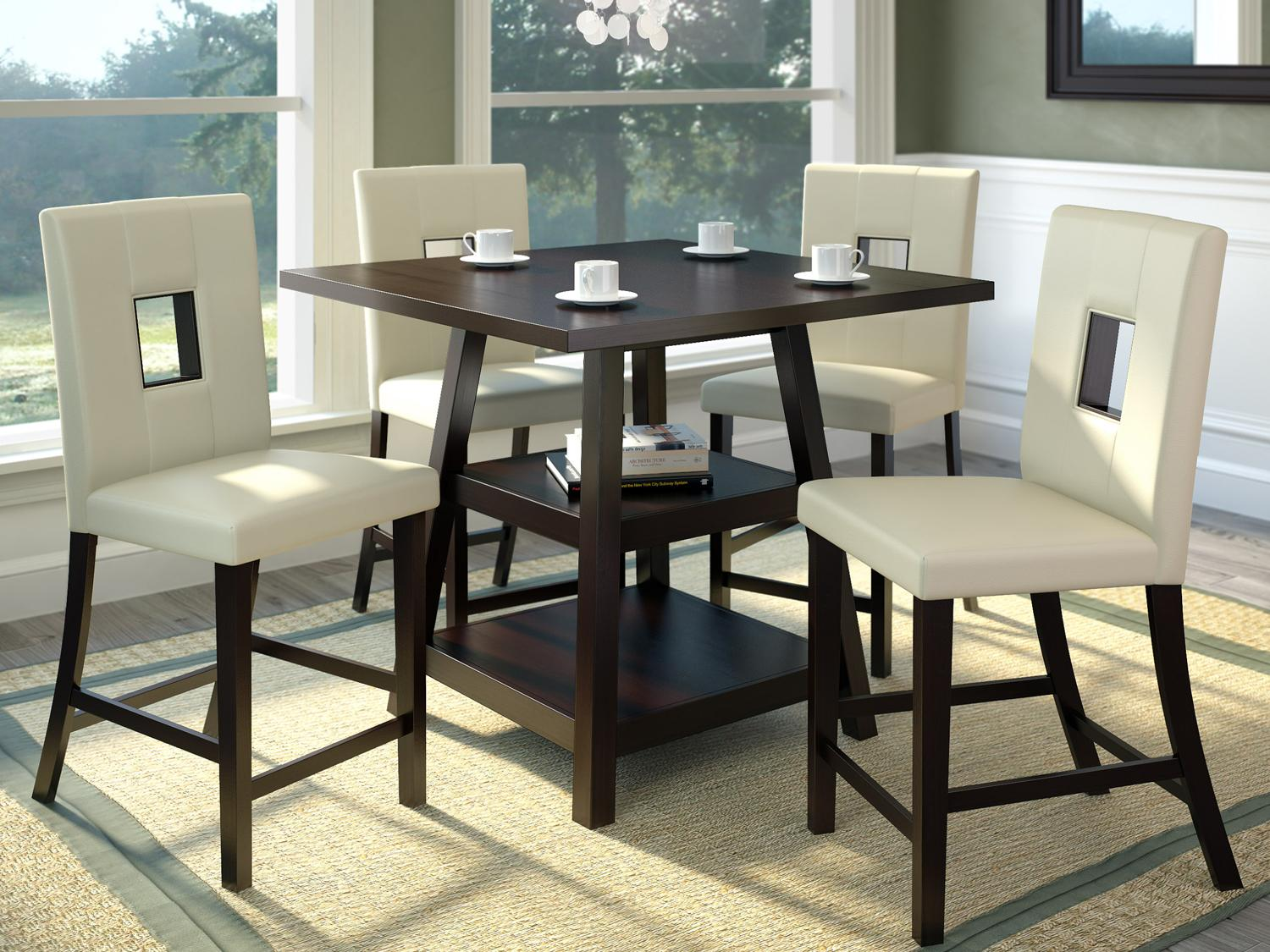 kitchen table with bench and chairs storage dining room furniture the home depot canada pub bistro sets