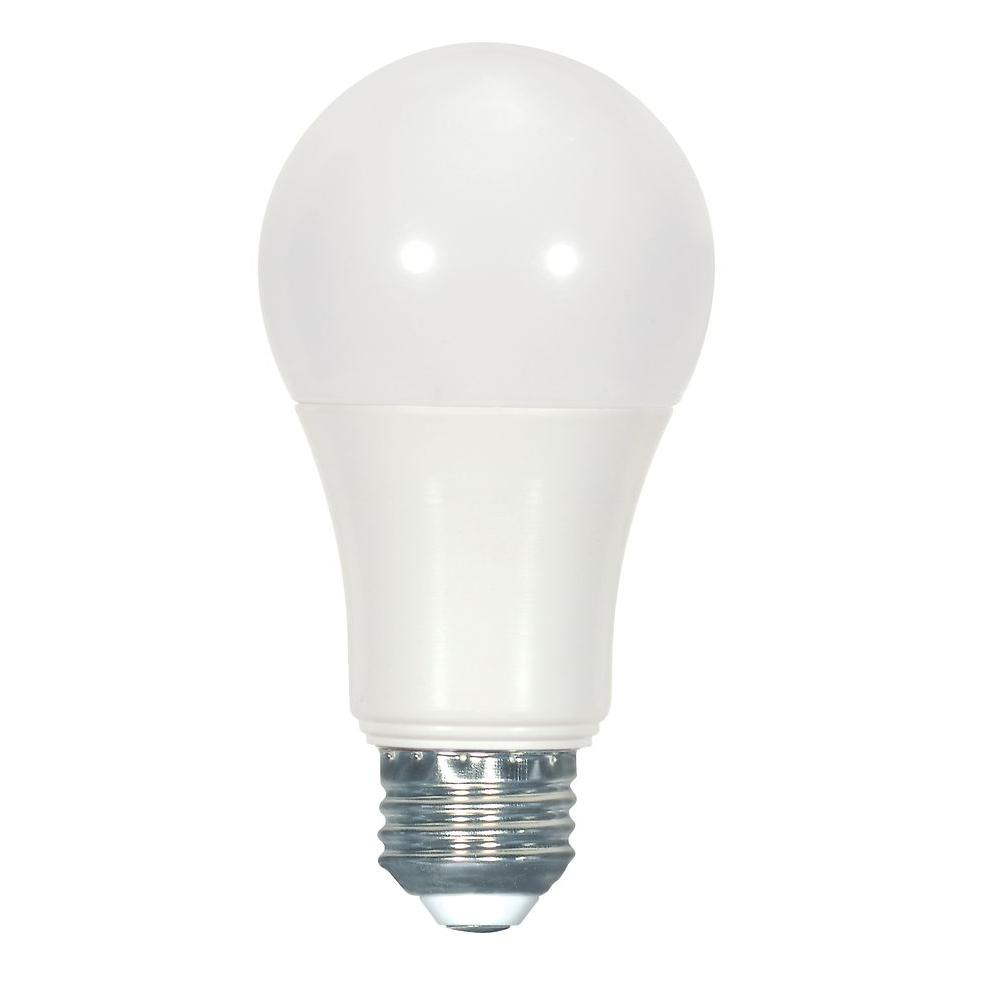 Glomar 60W Equivalent Natural Light A19 LED Light Bulb