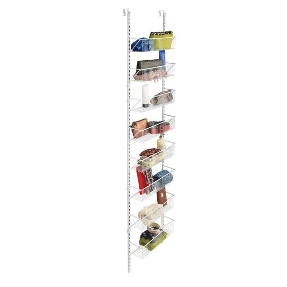 ClosetMaid 8-compartment over-the-door hanging storage