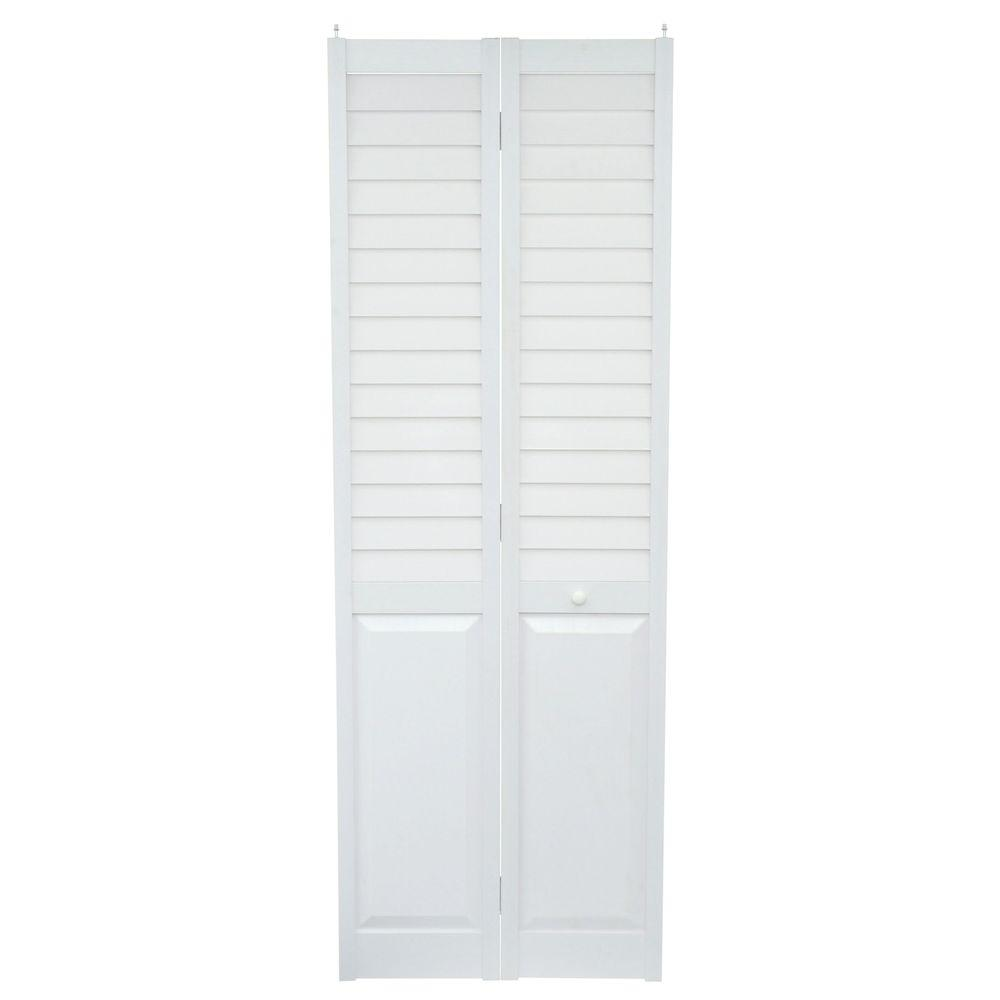 Kimberly Bay 28 In X 80 In White 1 Panel Shaker Solid: 28 X 80 Interior Door