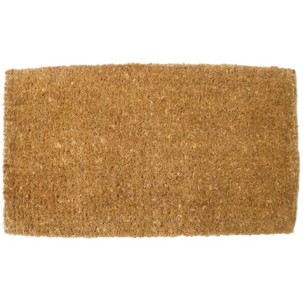 Plain Coco Door Mat 30 X 48
