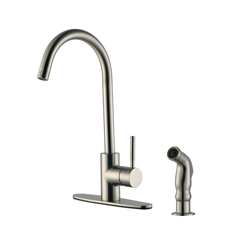 Design House Oakmont 2-Handle Lavatory Faucet in Satin