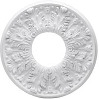Westinghouse Victorian 16 in. White Ceiling Medallion (2 ...