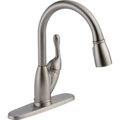 Delta Izak Kitchen Faucet Building Island Single-handle Pull-down Sprayer ...