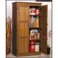 Concepts In Wood Multi-Use Storage Pantry in Dry Oak ...