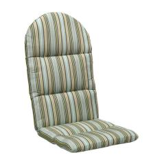 Sunbrella Adirondack Chair Cushions School Desks And Chairs Cilantro Stripe Outdoor Cushion-1573210620 - The Home Depot