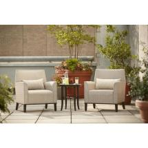 Hampton Bay Aria Patio Deep Seating Chairs 2-pack