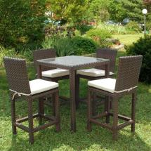 Atlantic Contemporary Lifestyle Monza Square 5-piece Patio