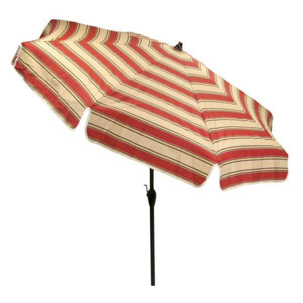 Hampton Bay Patio Umbrella Striped