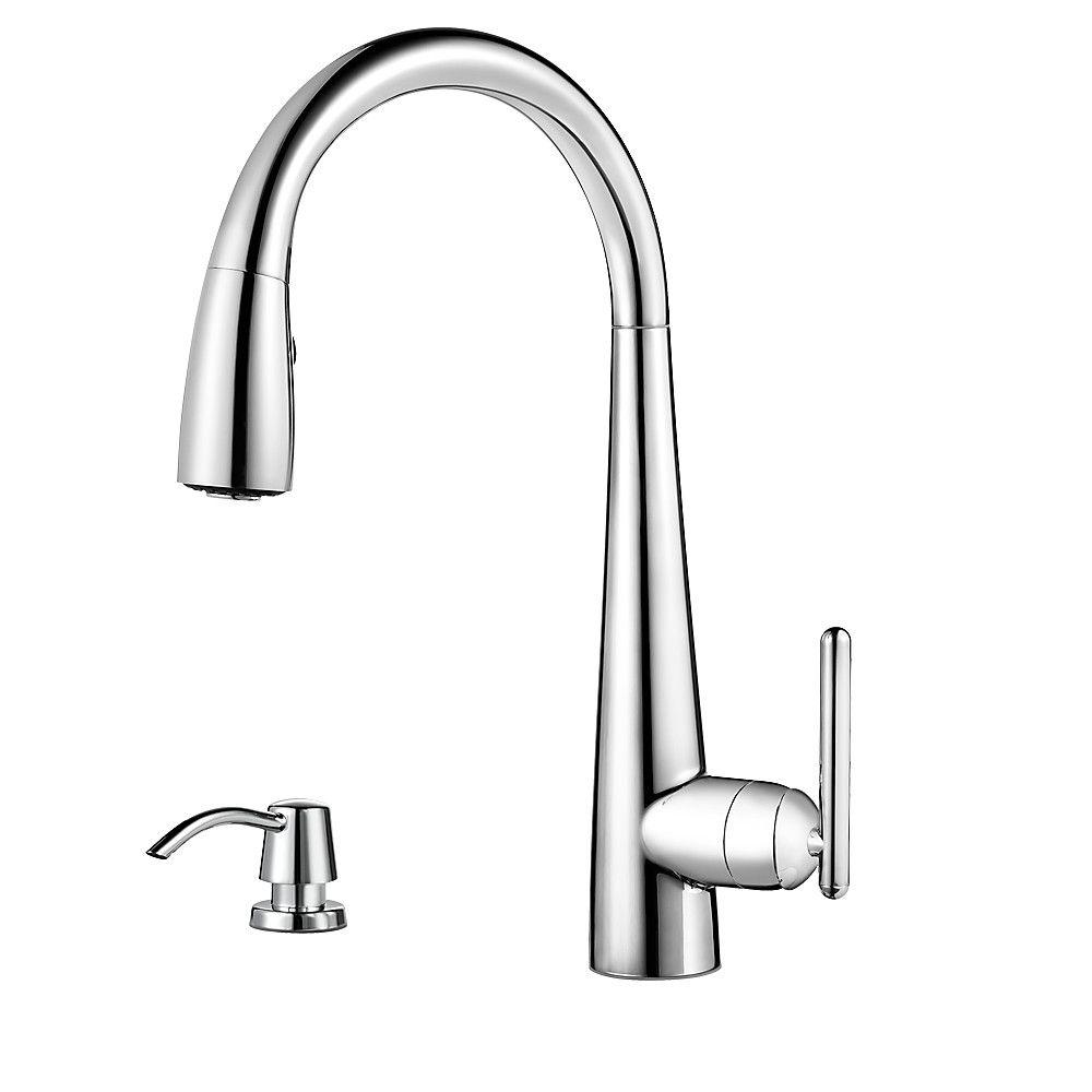 Pfister Cantara High-Arc 2-Handle Standard Kitchen Faucet