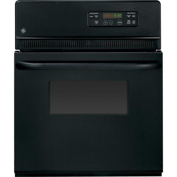 Ge 24 In. Single Electric Wall Oven In Black Online Shopping & Earn Points