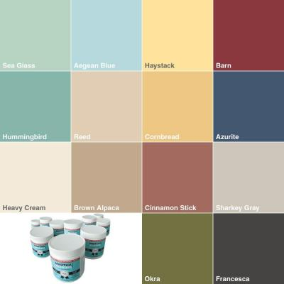 Tester Sampler Interior Latex Paint, 14 Pack