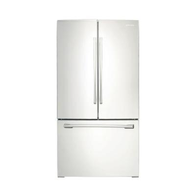 Samsung 25.5 cu. ft. French Door Refrigerator in White