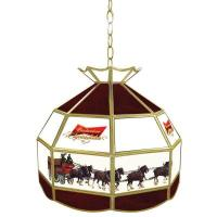 Trademark Global Budweiser Clydesdale 16 in. Gold Hanging