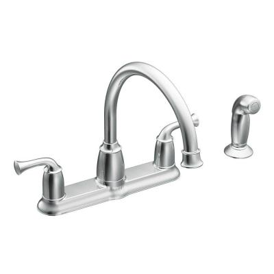 MOEN Banbury 2-Handle Mid-Arc Standard Kitchen Faucet with