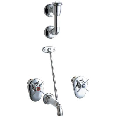 Chicago Faucets Concealed 2-Handle Kitchen Faucet in