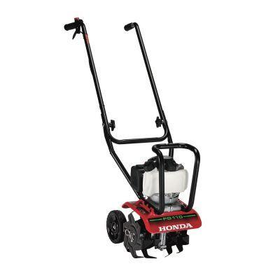 Honda9 in. 25 cc 4-Cycle Middle Tine Forward-Rotating Gas