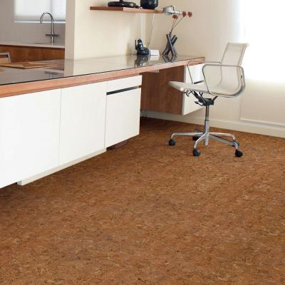 TrafficMaster Allure 6 in. x 36 in. Natural Cork Resilient Vinyl Plank Flooring (24 sq. ft./case) for $1.99/sq.ft.