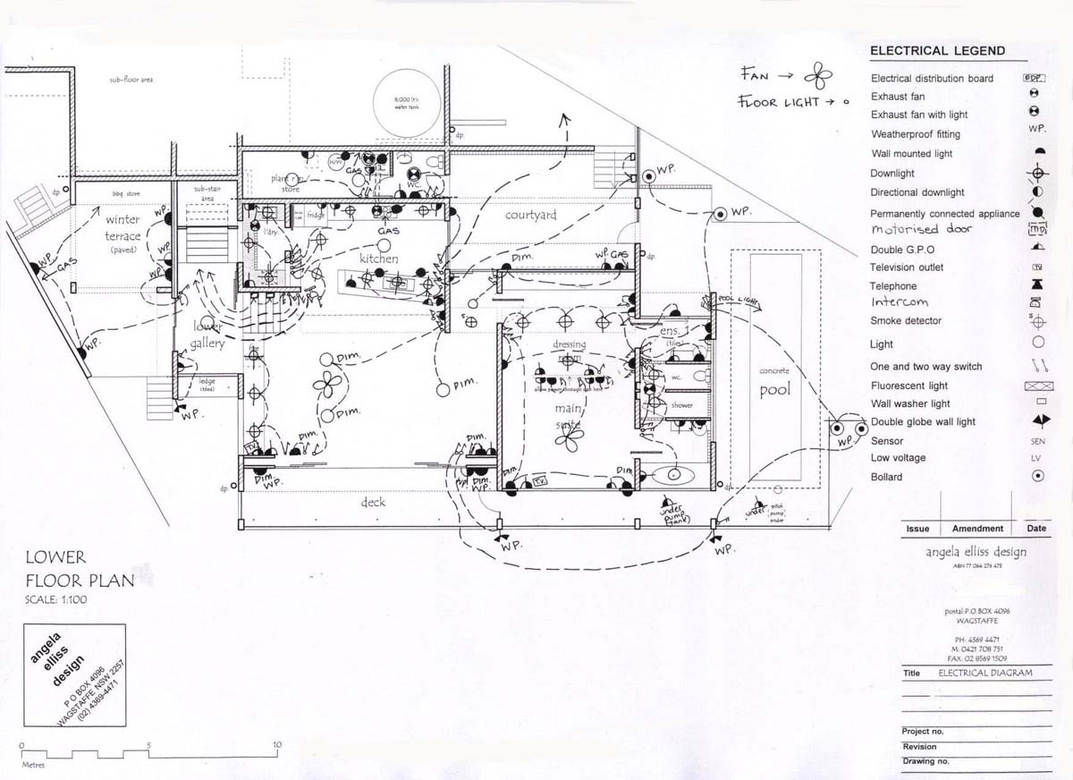 Wiring Diagram Of A Residential Building