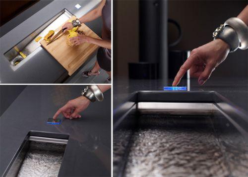 crevasse-prep-sink kitchen
