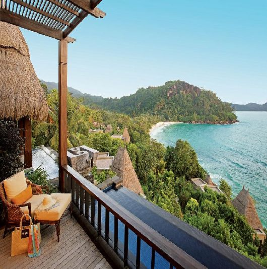 maia luxurious resort in the seychelles 7 gardening outdoor