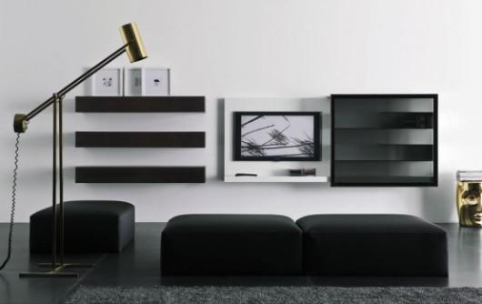 modern lacquered tv cabinet spazio box vision11 furniture 2