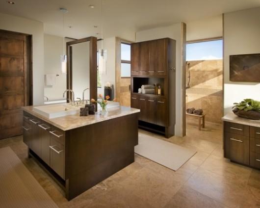 modern spanish house master bath interiors