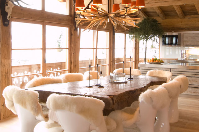 Rustic Style Homes Interior