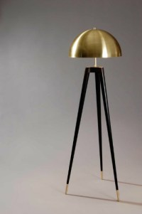 Choose the best black and gold floor lamp to your home designs