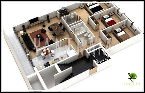 Precious House Designs And Plans Created With Home Design Programs