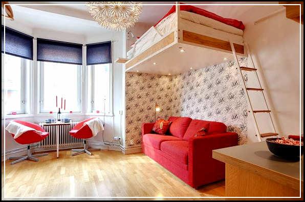 27 Awesome Studio Type House Interior Design Insuraati Com