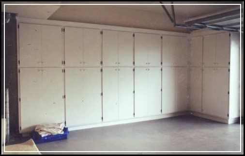 simple garage cabinet  Home Decor